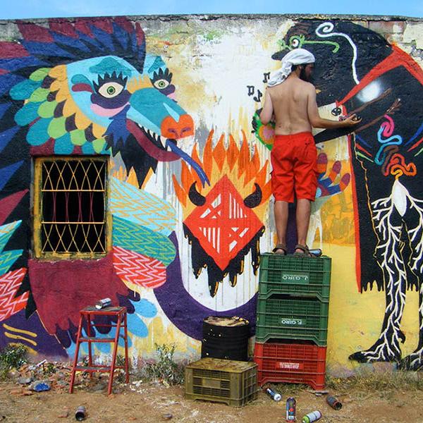 Wall with Tayone