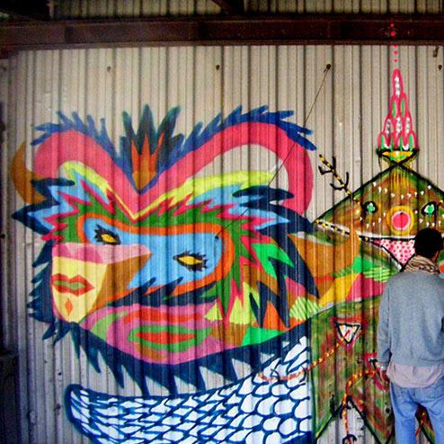 Wall with Nuno & Zosen
