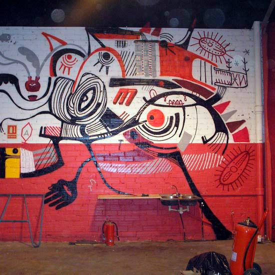 Freak Circus Wall