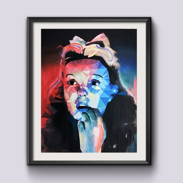 Portrait of Dorothy Gale – print