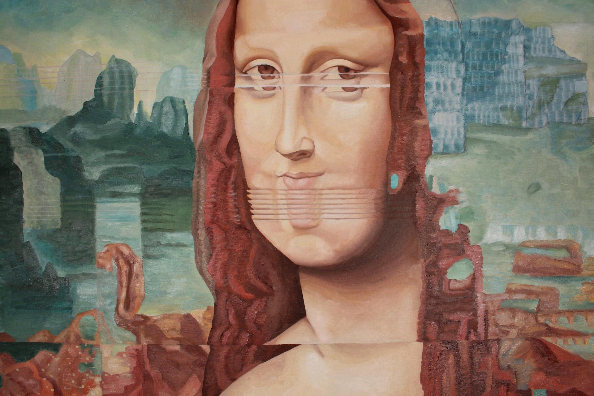 Mona Glitcha detail