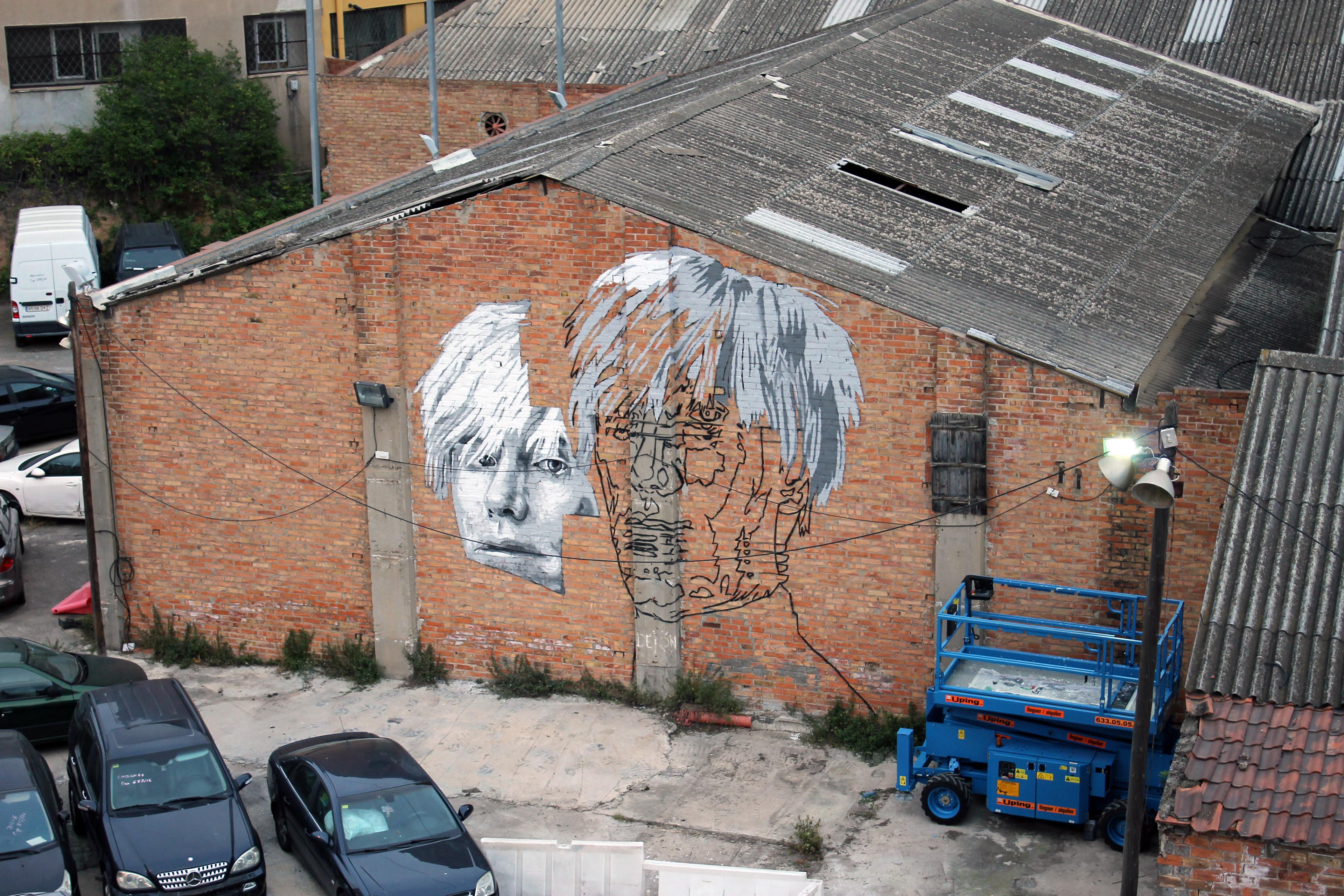 Andy Warhol Mural