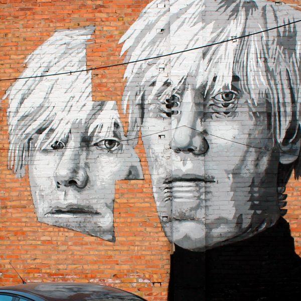 Warhol Mural