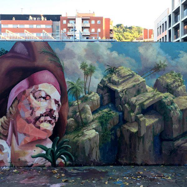 Xoroi Mural with Cinta Vidal